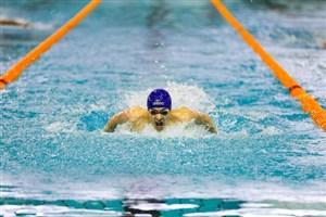 حضور شناگر ایرانی در مسابقات امارات