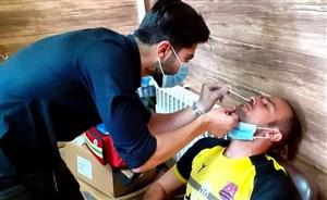 کرونا در اردوگاه نساجی قبل از بازی با پرسپولیس
