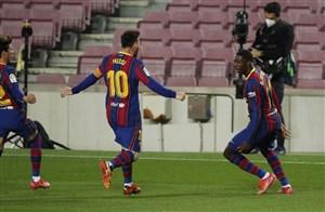 بارسلونا 1-0 وایادولید: سه امتیاز با چنگ و دندان