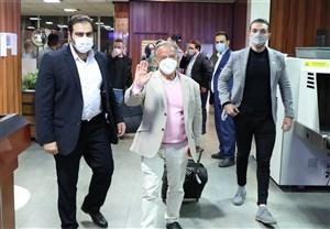 رئیس فدراسیون جهانی پرورش اندام وارد تهران شد