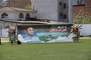میدان 7 در قائمشهر؛ به یاد نادر دست نشان