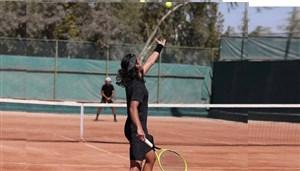جوانترین تنیسور تیم ملی امیدوار به دیویس کاپ