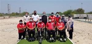تجلیل از کمانداران پارالمپیکی در اردوی کیش