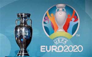 وقتی باد جام قهرمانی یورو 2020 را برد (عکس)
