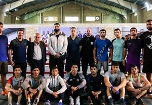حضور قزاقستان و الجزایر در اردوی تیم ملی بوکس