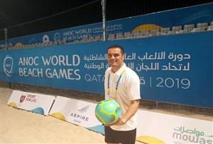 یک داور ایرانی کاندیدای حضور در جام جهانی ساحلی