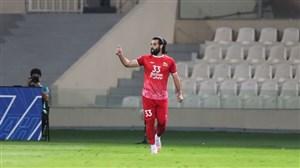 عباس زاده بهترین بازیکن تراکتور و الشارجه