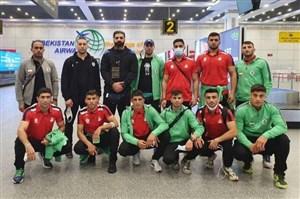 تیم ملی بوکس ایران به ازبکستان رسید