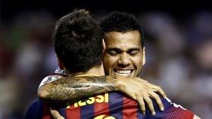 دنی آلوز: برای لیونل مسی و بارسلونا متاسفم