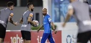 الهلال با دستیار مورایس در دیدار فینال فصل
