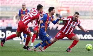 بارسلونا 0 - 0 اتلتیکو؛ احتمالا قهرمانی در کار نیست!
