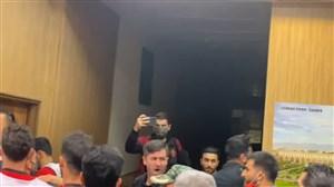 برخورد عاملان درگیری در اتاق تست دوپینگ اصفهان