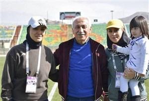 پدر و دختر همه کاره فنی تیم ملی فوتبال زنان