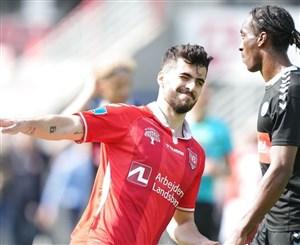 اولین بازی فصل عزتاللهی در دانمارک