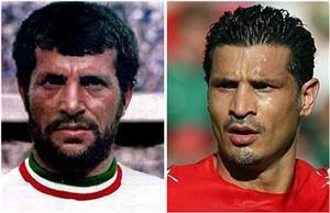 دو ایرانی درتیم منتخب تاریخ آسیا (عکس)