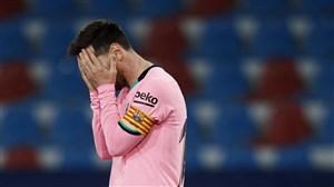 مصدومیت نابهنگام و ضربه ای دیگر به بارسلونا
