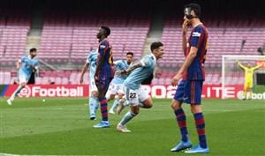 بارسا 1 - 2 سلتا؛ پایان رویای قهرمانی برای تیم کومان