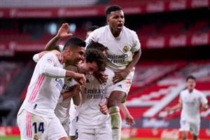 بیلبائو ۰-۱ رئال مادرید؛ امیدوار به معجزه در هفته آخر