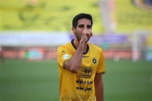 حسینی، ستاره سپاهان در اولین پیروزی فصل (آمار)
