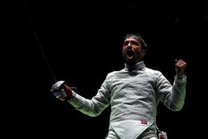 عابدینی: از خودم انتظار مدال المپیک دارم