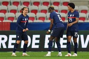 پیروزی فرانسه و توقف آلمان در دیدارهای دوستانه