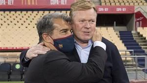 رونالد کومان، مانع انتقال دو بازیکن به بارسلونا