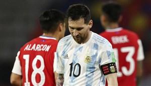 توقف آرژانتین و پیروزی کلمبیا در مقدماتی جامجهانی