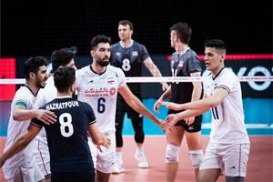عبادی پور و غفور غایبان ایران مقابل بلغارستان