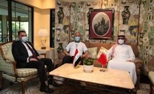 دیدار وزیر ورزش بحرین با همتای عراقی خود!