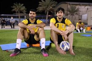 رد پای علی دایی در ورزشگاه ملی بحرین (عکس)