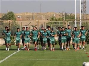 اولین تمرین تراکتور در تهران برای سوپر جام (عکس)