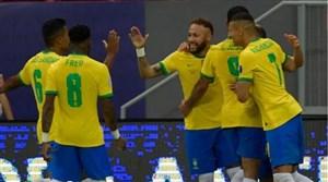 پیروزی پرگل برزیل در افتتاحیه کوپا آمهریکا