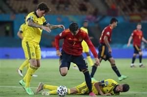 اسپانیا 0-0 سوئد: تیم انریکه نمیخواست ببرد