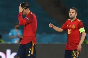 اولین بازی بدون گل یورو 2020 (عکس)
