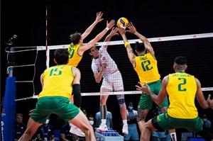 شکست عجیب ایران مقابل استرالیا در لیگ ملت ها + جدول و فیلم خلاصه والیبال