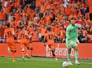 هلند 2-0 اتریش: صعود نارنجیها هم قطعی شد