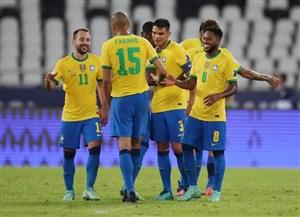 پیروزی پر گل برزیل و تساوی کلمبیا