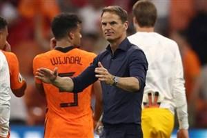 دیبوئر: هلند میتواند هر تیمی را شکست دهد
