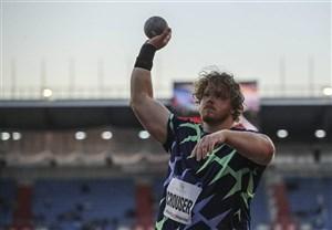 ثبت رکورد جدید جهانی پرتاب وزنه توسط کراسر