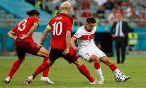 سوئیس 3 - 1 ترکیه؛ حذف مفتضحانه تیم گونش