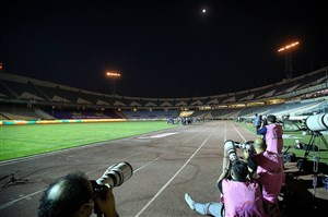 پروژکتورهای ورزشگاه آزادی خاموش شد!
