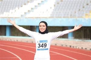 فصیحی قهرمان جایزه بزرگ دوی ۱۰۰ متر زنان شد