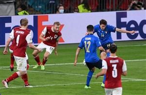 ایتالیا 2-1 اتریش: استرس در لبه شگفتی!