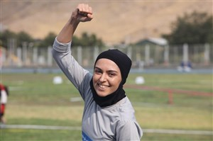 فصیحی در باد به رکورد ملی دوی ۱۰۰ متر رسید