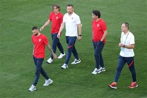 اعلام ترکیب کرواسی مقابل اسپانیا