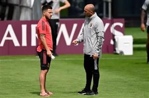 غیبت دو ستاره بلژیک برابر ایتالیا قطعی شد؟
