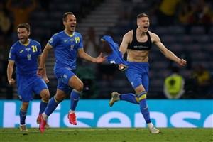 سوئد 1-2 اوکراین: شوچنکو، غرور شرق