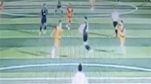 فاجعه تصویربرداری با دوربین مداربسته استادیوم
