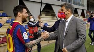معضل 300 میلیون یورویی بارسا برای تمدید با مسی