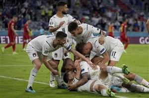 ایتالیا 2-1 بلژیک: لاجوردی رویاییترین رنگ است